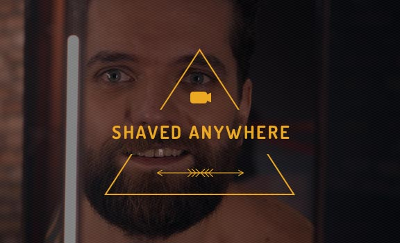 Shaved Anywhere avec Wilkinson