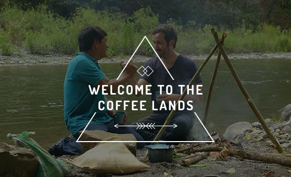 Welcome to the coffee lands avec NESCAFE